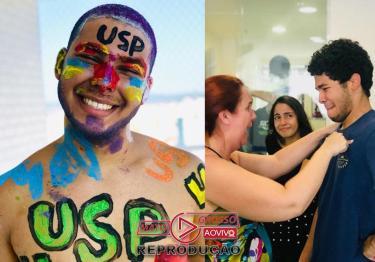 Aluno que fazia faxina e estudava no banheiro passa em Medicina na USP-media-1