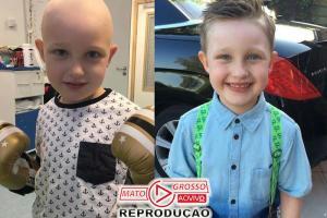 Cordão umbilical doado cura menino com câncer agressivo 65