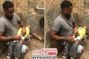 Trocador de fraldas em banheiros masculinos: campanha faz sucesso 91