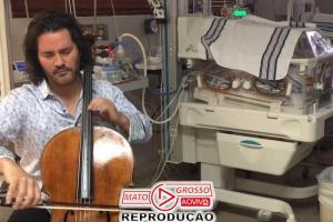 Violoncelista premiado toca pra recuperar bebês em UTI Neonatal 73