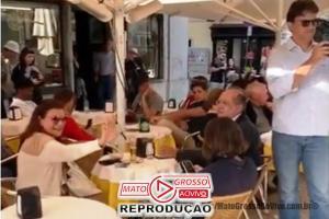 VÍDEO | Ministro Gilmar Mendes é hostilizado em bistrô de Portugal, de novo 76