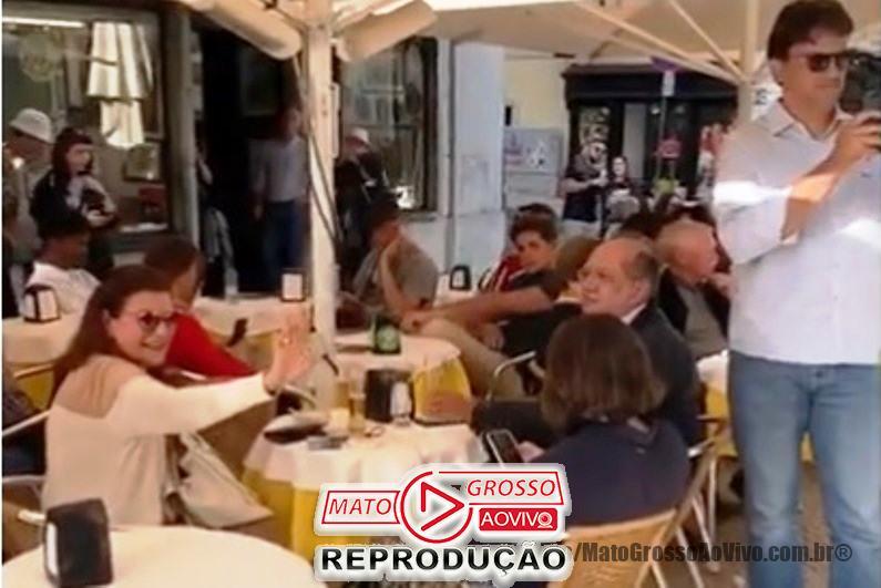 VÍDEO | Ministro Gilmar Mendes é hostilizado em bistrô de Portugal, de novo 65