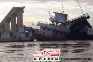 200 metros de ponte desabam sobre embarcações no Rio Moju, no Estado do Pará 63