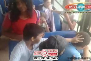 Aluno de escola municipal em Alta Floresta sofre bullyng diário de colegas durante transporte escolar 75