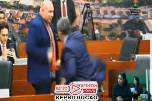 Vereadores de Cuiabá trocam tapas e acusações após discussão que envolve secretários da prefeitura municipal 84