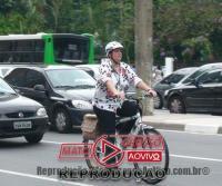 """""""Ciclo-faixa compartilhada"""" é a nova aposta da prefeitura de Alta Floresta para atender o fluxo de ciclistas 66"""