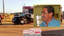 Melhora o quadro de saúde do pioneiro Ney Teles, após passar 4 dias em observação recuperando de acidente na MT 208 141