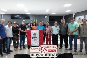 PDT de Alta Floresta elege a vereadora Elisa Gomes como nova presidente do partido 66