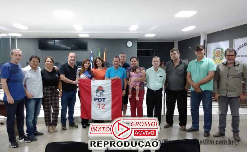 PDT de Alta Floresta elege a vereadora Elisa Gomes como nova presidente do partido 65