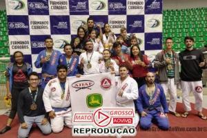 Atletas de Jiu-Jitsu de Alta Floresta sagram-se campeões em campeonato estadual e se elevam no ranking nacional 59