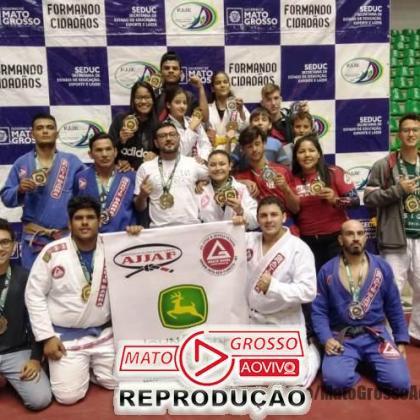 Atletas de Jiu-Jitsu de Alta Floresta sagram-se campeões em campeonato estadual e se elevam no ranking nacional 106