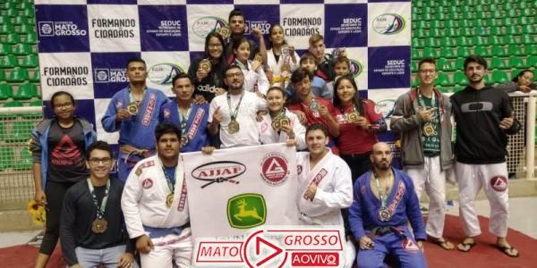 Atletas de Jiu-Jitsu de Alta Floresta sagram-se campeões em campeonato estadual e se elevam no ranking nacional 41
