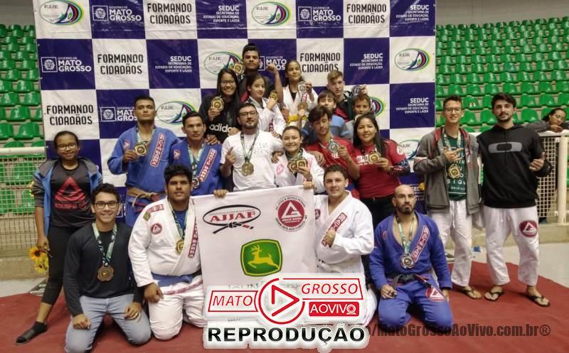 Atletas de Jiu-Jitsu de Alta Floresta sagram-se campeões em campeonato estadual e se elevam no ranking nacional 65