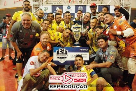 Após 20 anos Alta Floresta se consagra Campeã estadual da Copa Centro América de Futsal