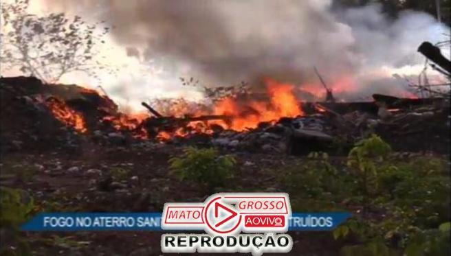 incendio no aterro sanitario de alta floresta14