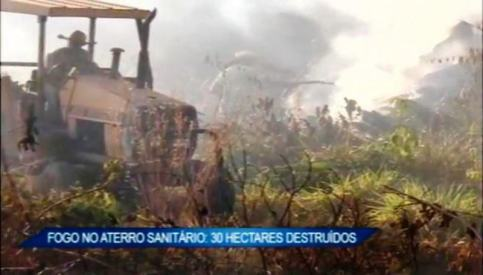 incendio no aterro sanitario de alta floresta2