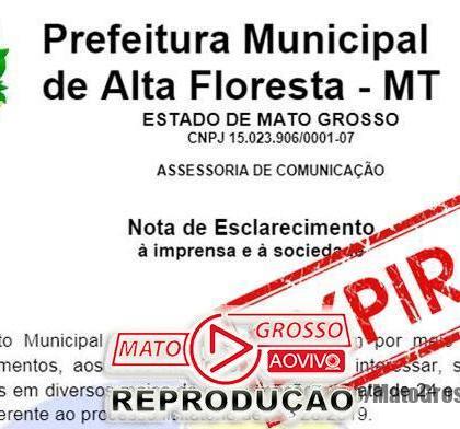 """Vereadores de Alta Floresta aguardam respostas de requerimentos sobre """"empresa de gaveta"""" e prefeitura se cala completamente 391"""