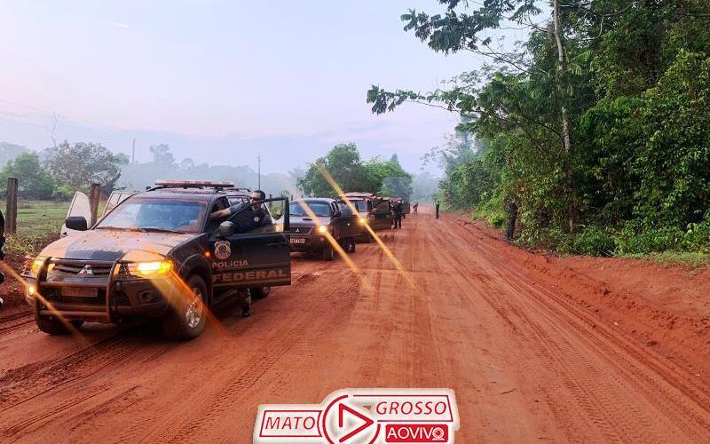 Operação Trypes | PF cumpre mandatos de prisão por comércio ilegal de ouro em Alta Floresta e mais três cidades 54