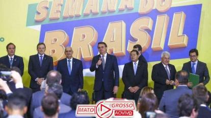 """Bolsonaro lança no Palácio do Planalto, """"Semana do Brasil"""" de 6 à 15 de Setembro, 3"""