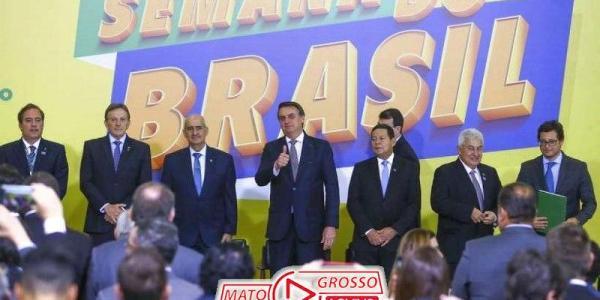 """Bolsonaro lança no Palácio do Planalto, """"Semana do Brasil"""" de 6 à 15 de Setembro, 43"""