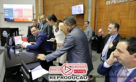 No plenário da ALMT, o sistema de refrigeração é central (Foto: JL Siqueira / ALMT)