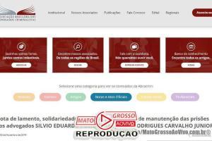ABRACRIM emite Nota de Repúdio pela prisão dos advogados suspeitos de extorsão ao ex-prefeito de Guiratinga 51