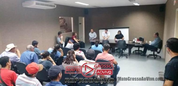 Em reunião no MP de Alta Floresta ficou agendada uma reunião com a empresa para o dia 21/11