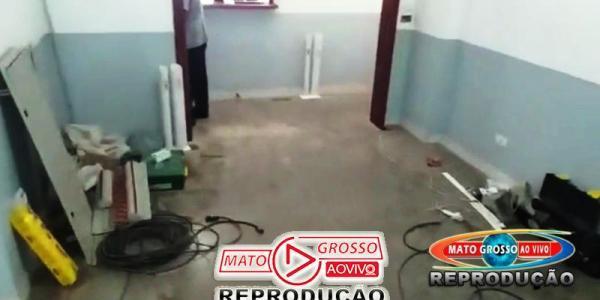 Reforma elétrica na Câmara Municipal de Alta Floresta causa transtorno e risco a saúde dos servidores e munícipes 26