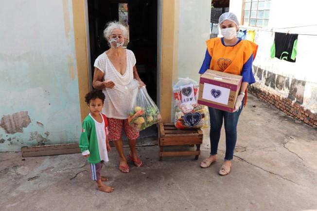 LBV beneficia idosos em situação de insegurança alimentar em Cuiabá