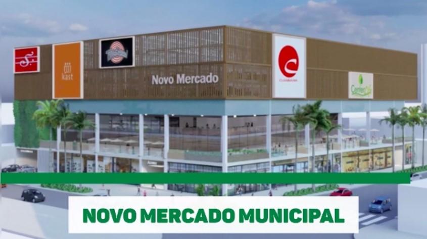 Mercado Municipal de Cuiabá será revitalizado. Obras iniciam ainda este ano e entrega é prevista para 2023