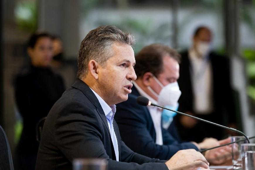 """Governador: """"Com Nota A no Tesouro, Mato Grosso abre portas para mais investimentos, obras e ações à população"""""""