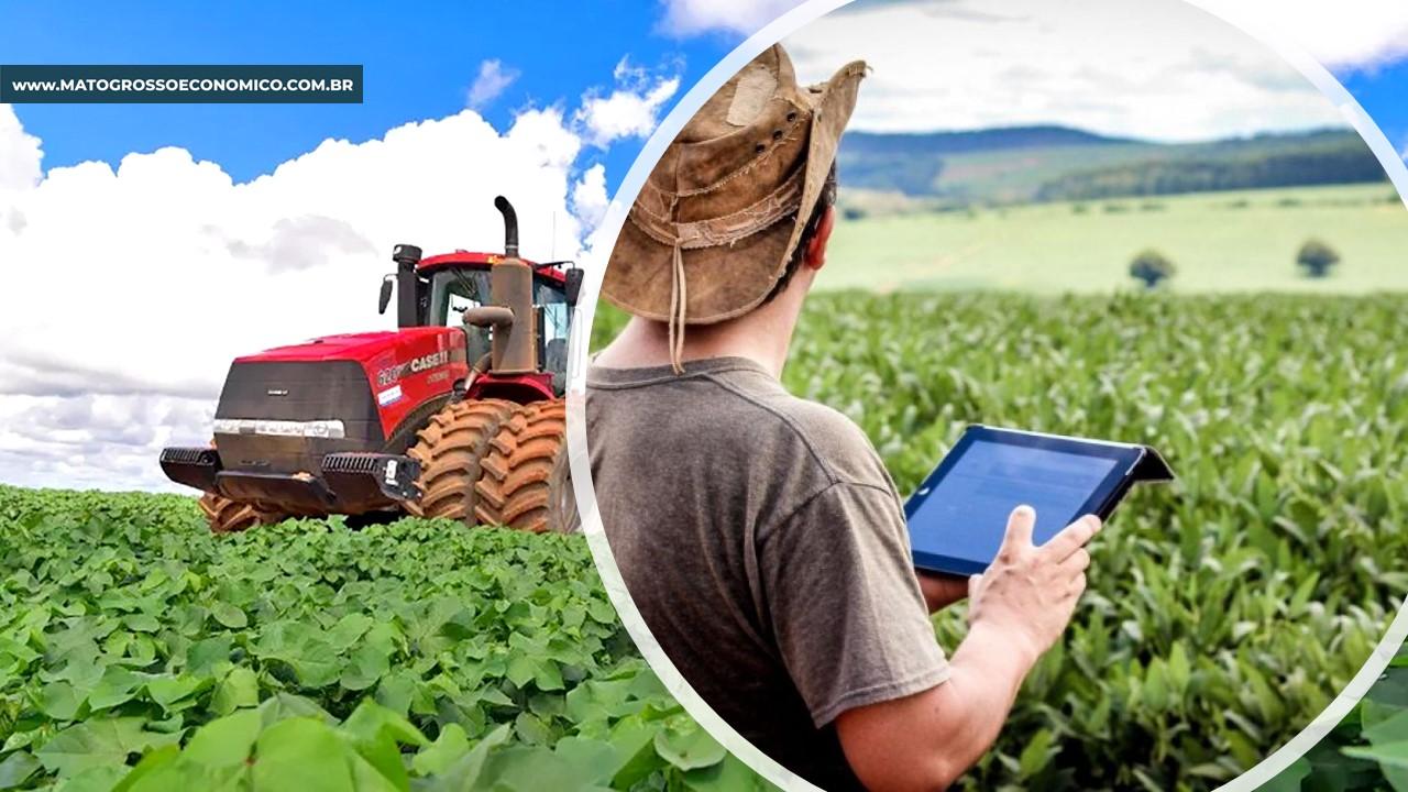 Mais de 80% dos produtores de MT têm internet na sede das fazendas, mas apenas 3% nas lavouras, aponta pesquisa