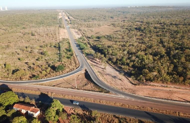 Ministro da Infraestrutura e governador Mauro Mendes assinam ordem de serviço das obras do Rodoanel de Cuiabá