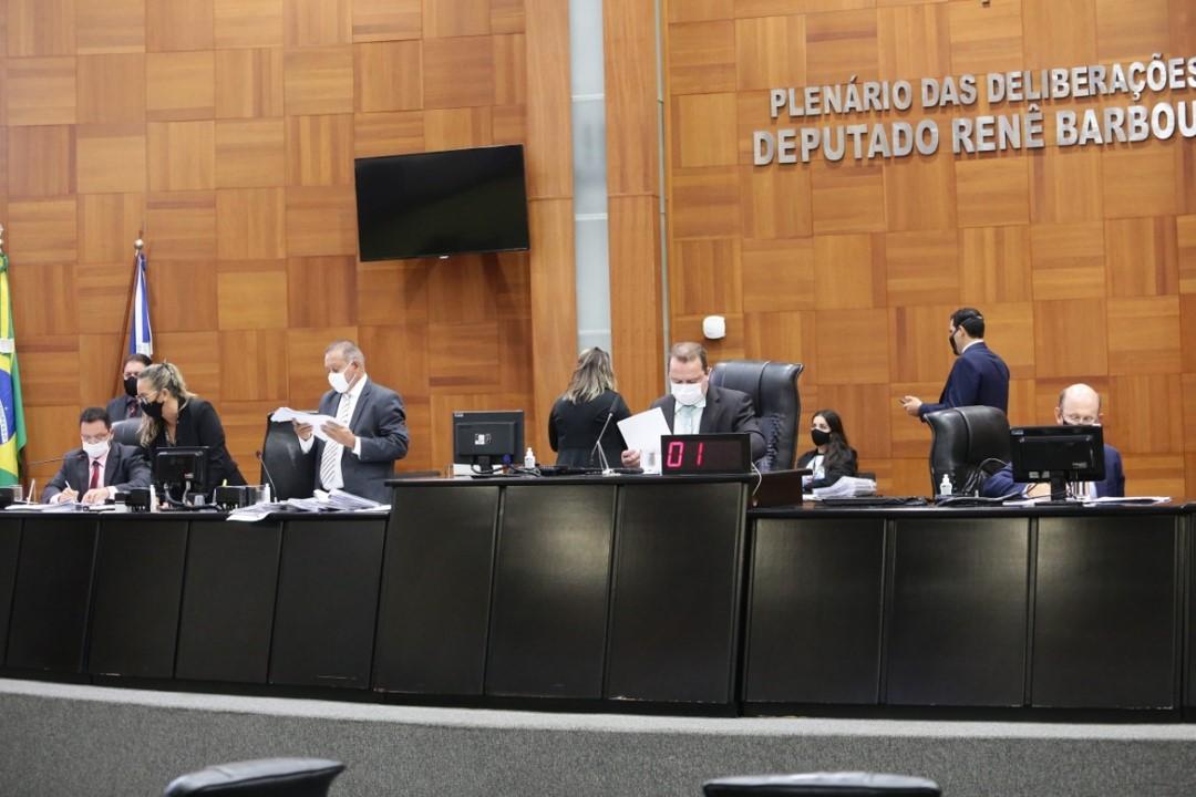 Assembleia realiza hoje (6) sessão em caráter de urgência, durante recesso de deputados