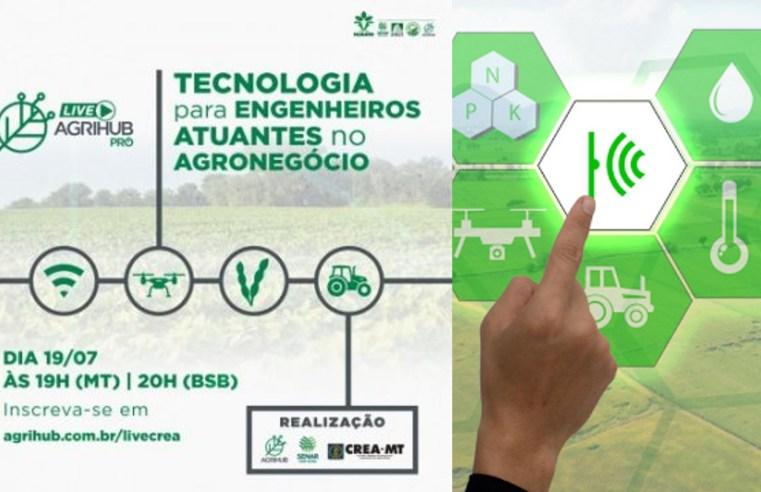 Agrihub realiza Live para engenheiros agrônomos