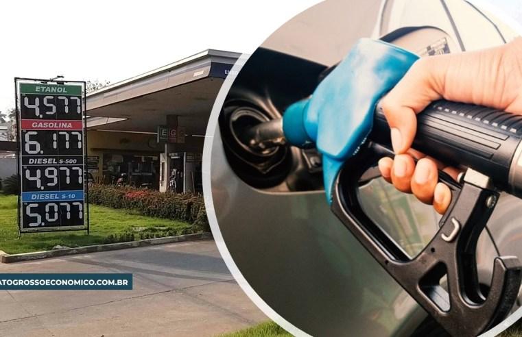 MT tem menor valor de etanol e gasolina do Centro-Oeste, mesmo com médias recordes de preços