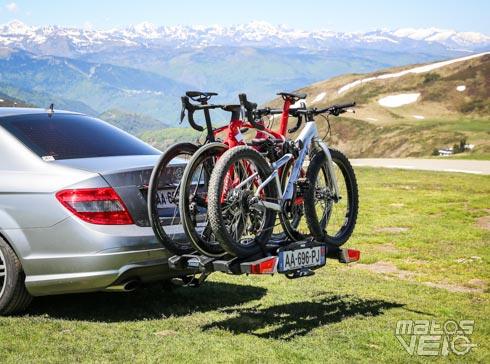 test du porte velos sur attelage thule easyfold xt 3 velos solide et compact matos velo actualites velo de route et tests de materiel cyclisme