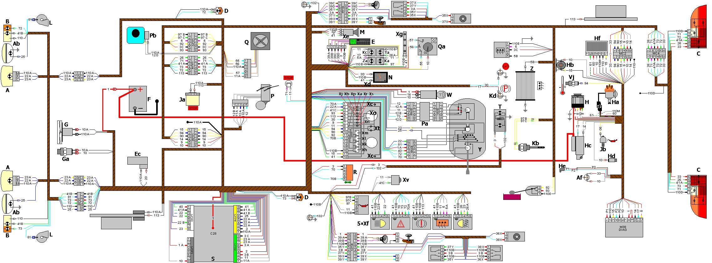 Peugeot 607 Wiring Pdf Real Diagram 307 Fuse Box 406 Diagrams Schematics 807 Free Download