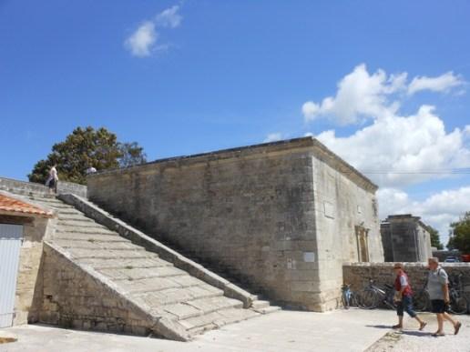 escalier brouage