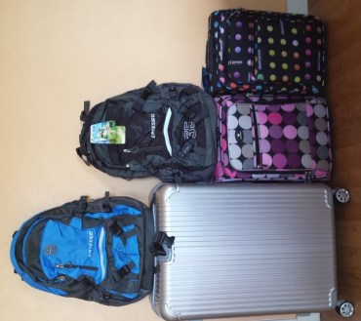 bagages pour une vie nomade