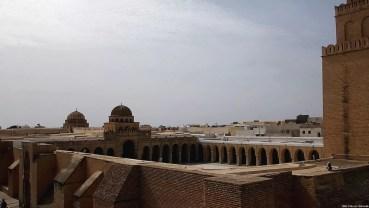 La Mosquée de Kairouan vue d'en-haut
