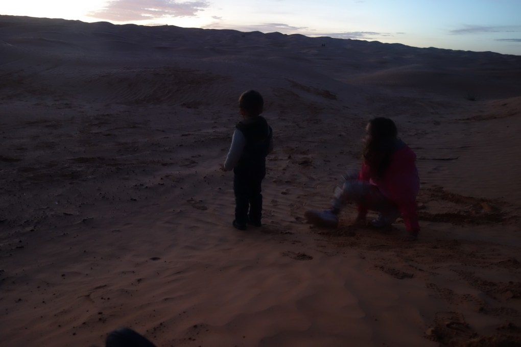 Au pied des dunes