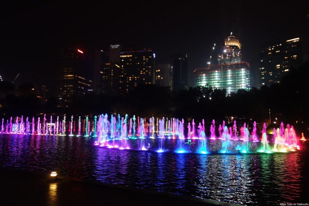 Kuala lumpur fontaines