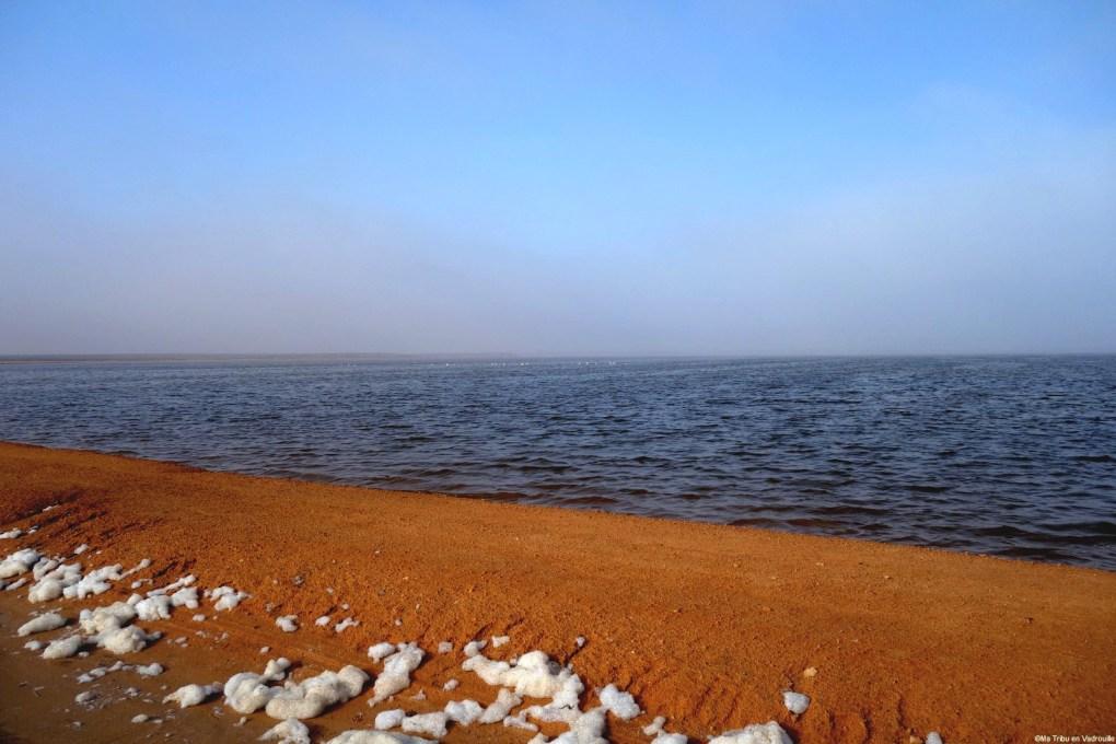 Lac salé Tunisie