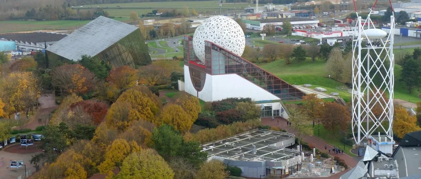 vue hauteur Futuroscope
