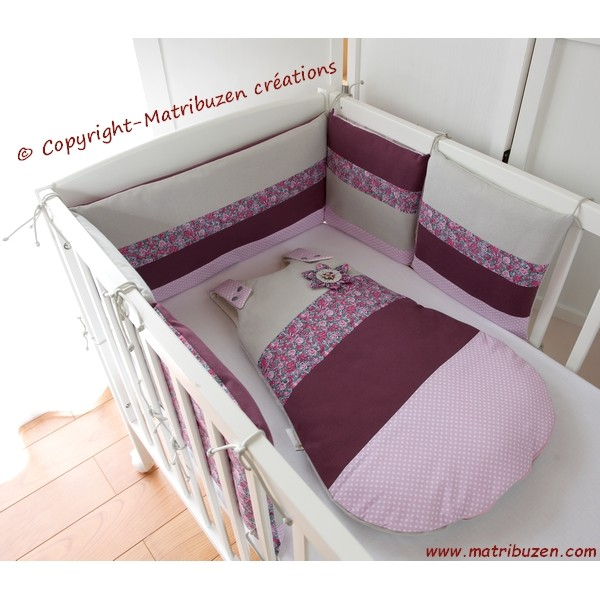 Chambre Bebe Prune Et Taupe