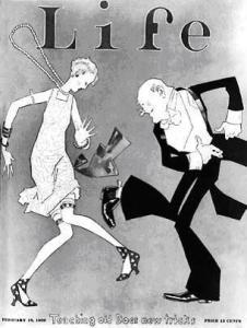 Life Magazine Cover - Roaring Twenties