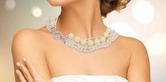 collana di perle per sposa