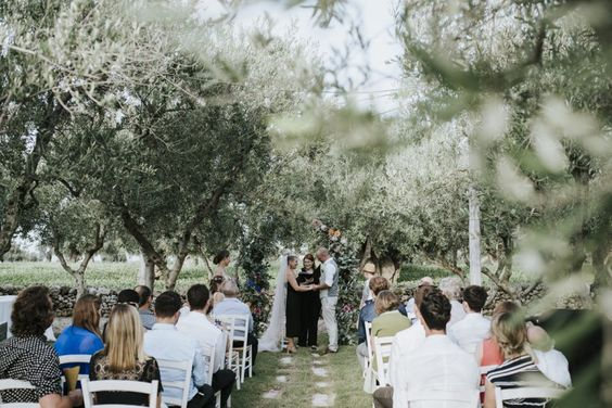 location matrimonio tema ulivo