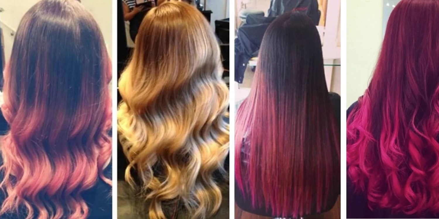 color-treated hair styling &
